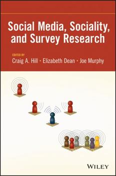 Social Media, Sociality, and Survey Research 111837973X Book Cover