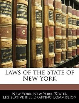 Paperback Laws of the State of New York Book