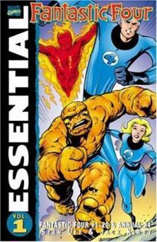 Essential Fantastic Four, Vol. 1 (Marvel Essentials) - Book  of the Essential Marvel