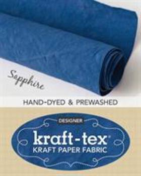 "Misc. Supplies Kraft-Tex Roll Sapphire Hand-Dyed & Prewashed: Kraft Paper Fabric, 18.5"" X 28.5"" Roll Book"