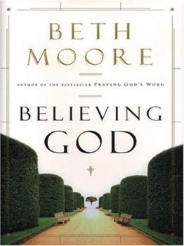 Paperback Believing God [Large Print] Book