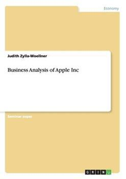 Paperback Business Analysis of Apple Inc Book
