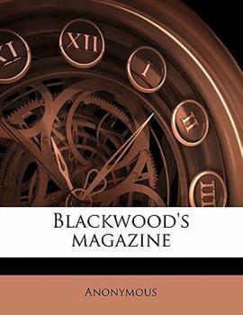 Paperback Blackwood's Magazine Book