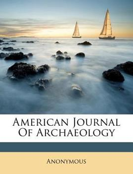 Paperback American Journal of Archaeology Book