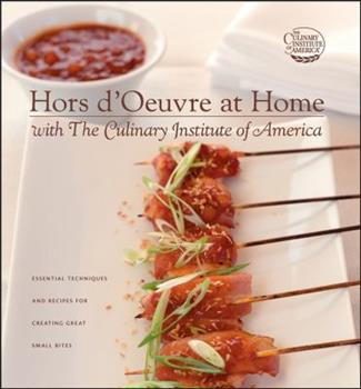 Hors d'Oeuvre at Home with The Culinary Institute of America 0764595628 Book Cover
