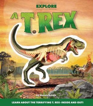 Paperback Explore a T. Rex Book
