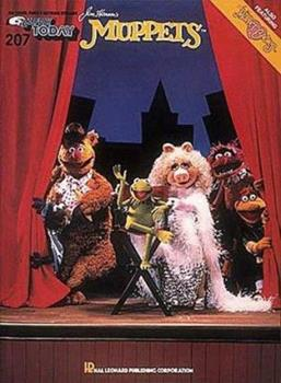 Paperback E-Z Play Today #207 - Jim Henson's Muppets Book