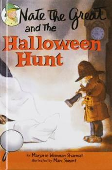 Nate The Great And The Halloween Hunt (Nate The Great, paper) 044080163X Book Cover