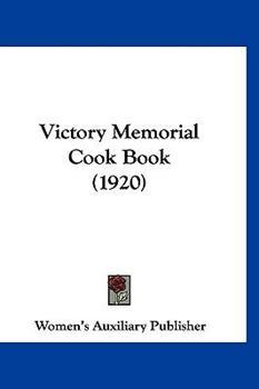 Hardcover Victory Memorial Cook Book