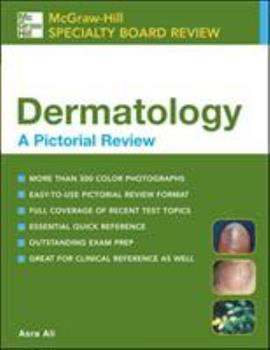 Dermatology: A Pictorial Review 0071422935 Book Cover