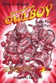 Billy Hooten #4: The Flock of Fury (Owlboy) - Book #4 of the Billy Hooten, Owlboy