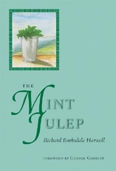 The Mint Julep 0813923778 Book Cover