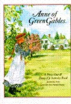 Anne Of Green Gables Press-Out Doll Book - Book  of the Anne of Green Gables