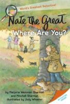 Nate the Great, Where Are You? 044981078X Book Cover