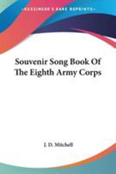 Paperback Souvenir Song Book of the Eighth Army Corps Book