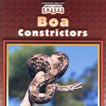 Boa Constrictors - Book  of the World's Largest Snakes