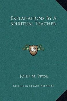 Hardcover Explanations by a Spiritual Teacher Book