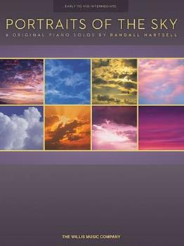 Paperback Portraits of the Sky : 8 Original Intermediate Piano Solos Book