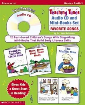 Teaching Tunes Audio CD and Mini-Books Set: Favorite Songs with CD (Audio) 0439305918 Book Cover
