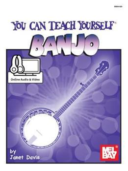 You Can Teach Yourself Banjo 0786693215 Book Cover