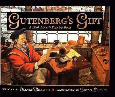 Gutenberg's Gift 0152007830 Book Cover