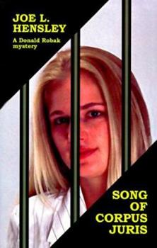 Song of Corpus Juris (Donald Robak Mysteries) 0385095554 Book Cover