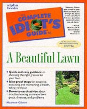 Paperback Complete Idiot's Guide to a Beautiful Lawn Book