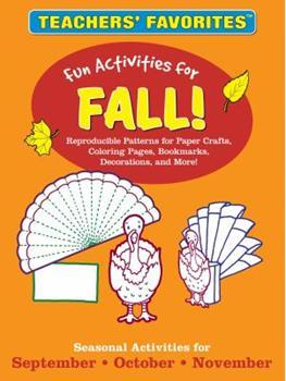 Paperback Teachers' Favorites - Fun Activities for Fall! Book