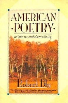 American Poetry: Wildness and Domesticity 0060920823 Book Cover