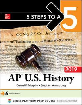 Paperback 5 Steps to a 5: AP U.S. History 2018, Elite Student Edition Book