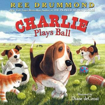 Hardcover Charlie Plays Ball Book