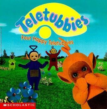 Four Happy Teletubbies - Book  of the Teletubbies