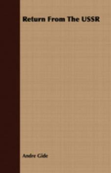 Return from the U.S.S.R 1406749478 Book Cover