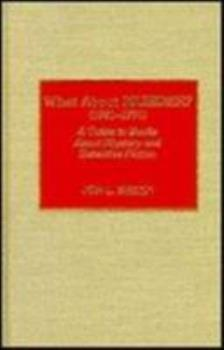 What about Murder? (1981-1991): A Guide to Books about Mystery and Detective Fiction 0810814137 Book Cover