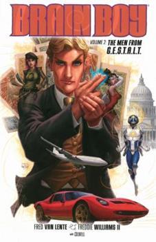 Brain Boy Volume 2: The Men from G.E.S.T.A.L.T. - Book  of the Dark Horse Heroes