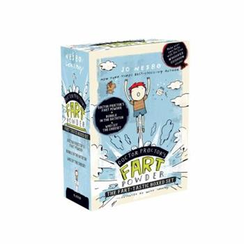 Doctor Proctor's Fart Powder The Fart-tastic Boxed Set: Doctor Proctor's Fart Powder; Bubble in the Bathtub; Who Cut the Cheese? - Book  of the Doktor Proktor