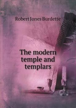 Paperback The Modern Temple and Templars Book