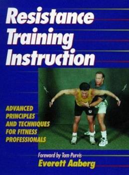 Paperback Resistance Training Instruction Book