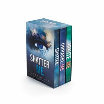Shatter Me Series Box Set: Shatter Me, Unravel Me, Ignite Me 0062563084 Book Cover