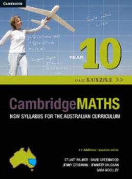 Cambridge Mathematics Nsw Syllabus for the Australian Curriculum Year 10 5.1, 5.2 and 5.3 1107676703 Book Cover