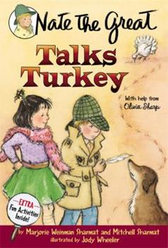 Nate the Great Talks Turkey 0440421268 Book Cover