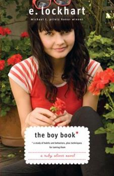 The Boy Book: A Gazillion Lists, Three Potential Boyfriends, Several Penguins and Me, Ruby Oliver 0385732082 Book Cover