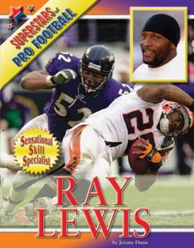 Ray Lewis - Book  of the Superstars of Professional Football