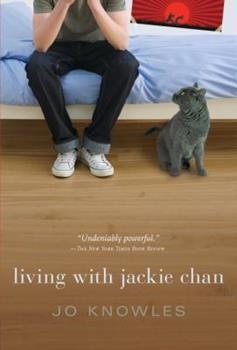 Living with Jackie Chan 0763662801 Book Cover