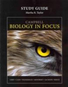 Study Guide for Campbell Biology in Focus 0321864999 Book Cover