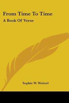 Paperback From Time to Time : A Book of Verse Book