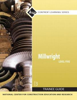 Paperback Millwright Level 5 Trainee Guide, Paperback Book