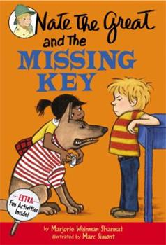 Nate the Great and the Missing Key 044046191X Book Cover