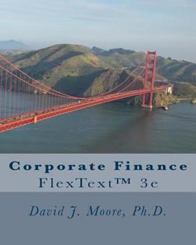 Paperback Corporate Finance: FlexText™ Book