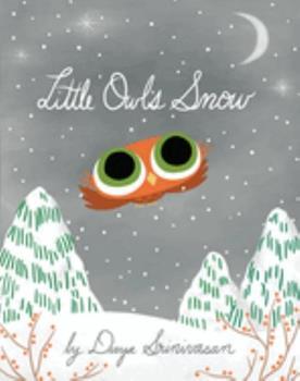 Hardcover Little Owl's Snow Book